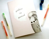 A5 Notebook Pethau I'w Gwneud Welsh Things To Do Pink Budgie Eco Friendly