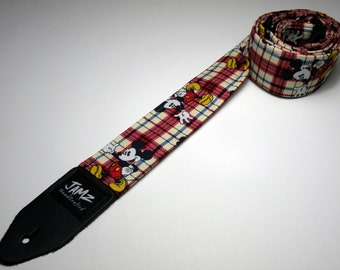 Children's cartoon character handmade double padded guitar strap - This is NOT a licensed product
