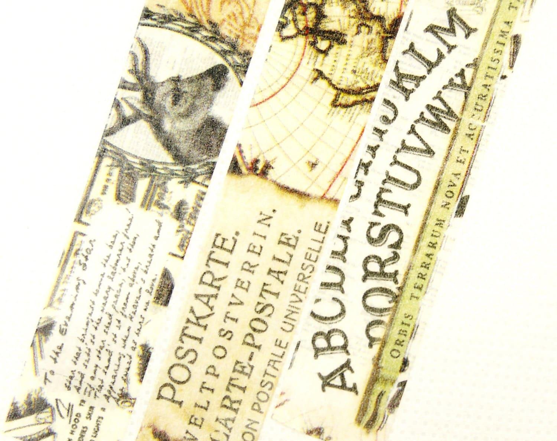 Carte postale japonais washi masking tape 11 par zakkalover - Masking tape traduction ...