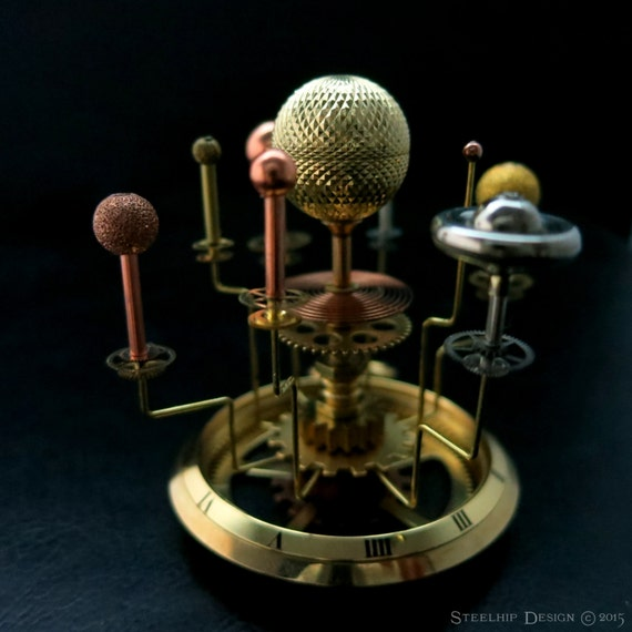 Orrery inspired Miniature Solar System Planets Globe Sun