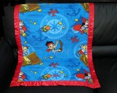 Jake the Pirate Personalized Fleece Blanket 30x40
