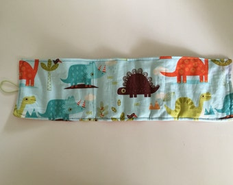 Dinosaurs Crayon Roll
