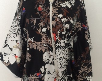 Beautiful Butterfly BLOUSE Large Extra Large