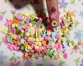 30 super tiny bakery clay mix colors and shapes