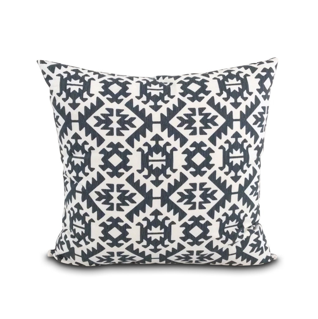 Southwest pillow Desert Modern style. Washable pillow cover.