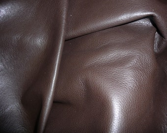 "Leather 12""x12"" DARK Chocolate Brown KING Full grain Cowhide 3-3.5oz/1.2-1.4 mm PeggySueAlso™"