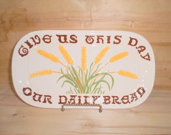 Decorative Bread Platter