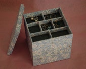 4 Level Jewelry Box(L) with Lid