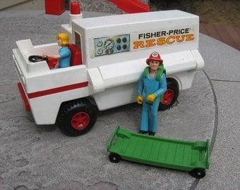 1974 Fisher-Price Rescue