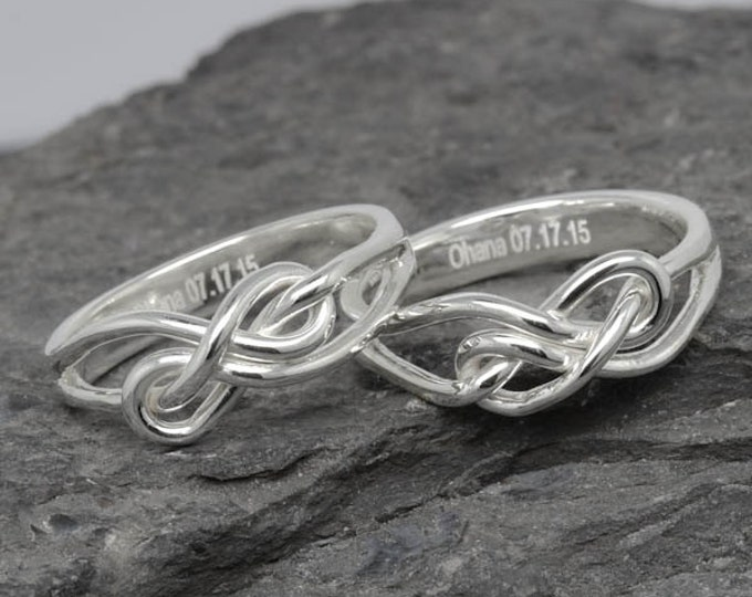 Infinity ring, maid of honor, best friend, promise, personalized, friendship, sisters, mother daughter, bridesmaid gift, wedding gift