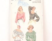 1970s Butterick 5714 // peasant blouse