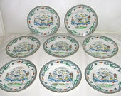 Plates and Cups by Burgess and Leigh