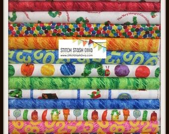 Hungry Caterpillar Super Bundle from Andover Fabrics