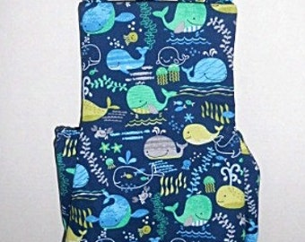 Colorful Whales Baby Romper-Sunsuit - Perfect for summertime