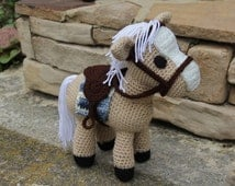 Amigurumi Mini Pony : Unique amigurumi pony related items Etsy