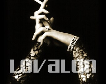 Glamorous Hands... Instant Digital Download... 1920's Vintage Fashion Photo... Vintage Photography Image by Lovalon