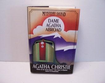 Agatha Christe -DAME Agatha Abroad  Hardcover book