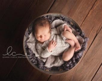 Long Sleeved Overalls, Newborn Overalls, Short Overalls, Photo Prop