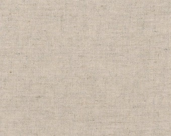 reduced - Brussels Washer linen/rayon natural - Robert Kaufman  - by the yard