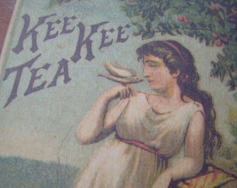 Victorian Trade Card - Kee Kee Tea