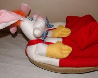 1980's Roger Rabbit Childs Slippers