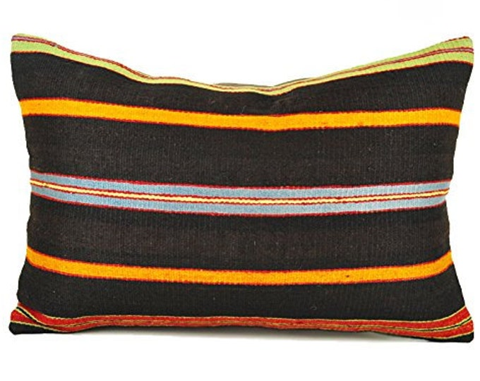 Kilim pillow, Kilim Pillow Cover, lkp8-90, Turkish Pillow, Kilim Cushions, Bohemian Decor, Moroccan Pillow,  Bohemian Pillow, Turkish Kilim