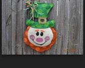 RESERVED listing for Kristen Counce - Burlap Door Hangers