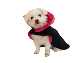 DOG CLOTHES - Dog Halloween Costume - Vampire Dog Costume - Dracula Dog Costume - Pet Costume