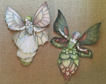 Jointed Fairies Paper Doll Kit