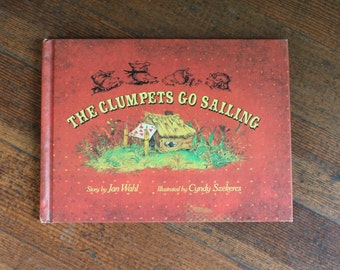 Vintage Children's Book - The Clumpets Go Sailing by Jan Wahl (1975)