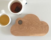 NEW Wooden Cloud Cheese / Bread Board, Cutting Board, Gifts for the Host, Kitchen Gourmet,