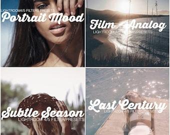 4 Combo Pack! Portrait Mood - Subtle Season - Film Analog - Last Century