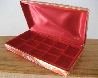 Art deco Asian design jewelry box.