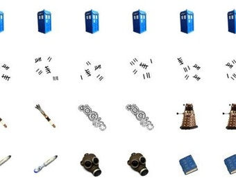 Nail Decal-Doctor Who