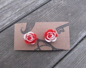 We Are Painting The Roses Red! Alice In Wonderland Earrings