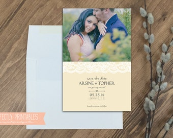 Printable Save the Date Invitation