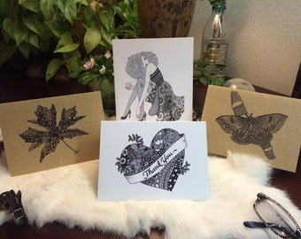 Six Greeting Cards of your choice