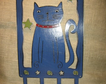 Star Gazer Cat Leash/Key/Scarf Holder