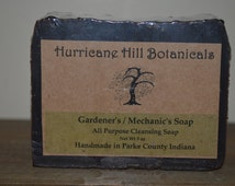 Gardeners and Mechanics Soap-All Natural-New recipe