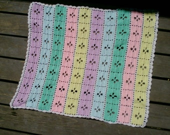 New stroller sized baby afghan