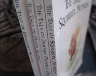 Vintage Collection of 4 Beatrix Potter Books