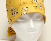 Ladies Surgical Scrub Hat - Chemo Cap - Pixie - Despicable Me Minions