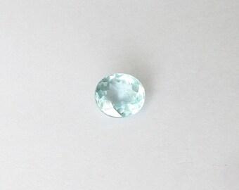 Natural Blue Aquamarine, Unheated, Oval Cut, 4.37 carats