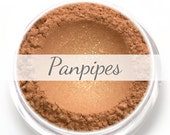 """Eyeshadow Sample - """"Panpipes"""" - shimmery warm gold (Vegan) Mineral Makeup Eye Color Pigment"""