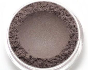 "Shimmery Taupe Brown Eyeshadow - ""Ashelia"" - Vegan Mineral Eyeshadow Net Wt 2g Mineral Makeup Eye Color Pigment"