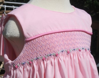 Hand Smocked Sundress