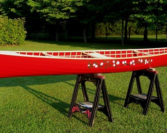 "Skin-On-Frame Canoe, 15' 2"" Higley Model, 3rd Generation Prototype"