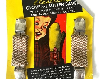 Vintage glove and mitten saver