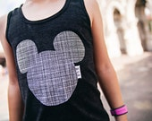 Swanky Shank Personalized, Gender Neutral Mouse Tank