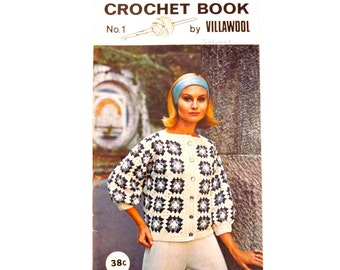 Villawool Crochet Book No 1